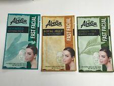 (3) AbeIia Korean Face Mask - SEAWEED, GREEN TEA & ROYAL JELLY