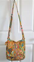 Vera Bradley - Yellow Floral - Crossbody Shoulder Bag