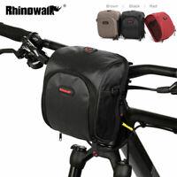 Bike Handlebar Bag Front Bag Cycling Bag Polyester Shoulder Bag With Rain cover