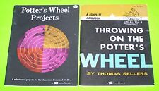 """1973-1974 LOT OF 2: """"POTTER'S WHEEL PROJECTS"""" + """"THROWING ON THE POTTER'S WHEEL"""""""