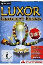 LUXOR Collector Edition pc égyptienne billes pyramide sphinx statues pharaons