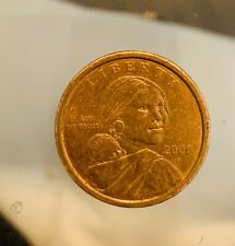 One Dollar US Liberty Coin 2000 D Sacagawea Denver Mint