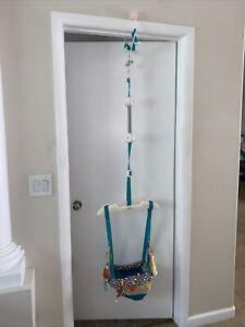Infantino Go Gaga Up, Up Away Deluxe Doorway Jumper - Multi-Color