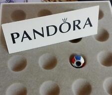 PANDORA | GENUINE Silver Vintage Red White & Blue Beach Ball Charm: 791146ENMX