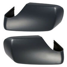 Pair Driver Door Rearview Mirror Shell Cover Cap Housing Case for BMW E46 98-04