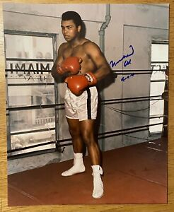 Muhammad Ali Signed Autographed 8x10 Photo Full JSA Letter Certified Boxer