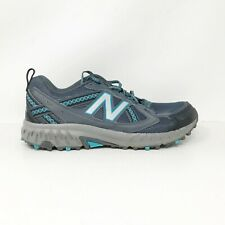 New Balance Womens 410v5 Trail WT410LO5 Gray Running Shoes Lace Up Size 10 D