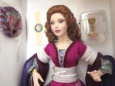 "Franklin Mint Camelot series ""MORGAN LA FAYE"" Doll w"" CUP of life"" Stand+COA NEW"