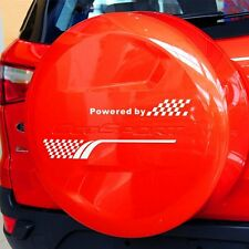 1PC JDM Spare Tire Cover Powered By Racing High Quality Vinyl Car Sticker Decal