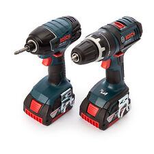 Bosch GSB 18 V-LI + GDR 18 V-LI, 2 x 5.0Ah in L-BOXX - 0615990H95