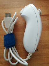 Nintendo Wii *Official White Nunchuk Attachment Nunchuck* Tested Works