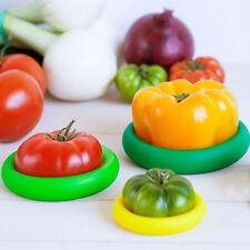 Lot de 4 Capuchons Couvercles de Conservation Fruits et Légumes Entamés NeuF