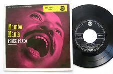 """7"""" EP Perez Prado-Mambo MANIA-VG + + RCA EPB 1075-1 Ballin the Jack in sax"""