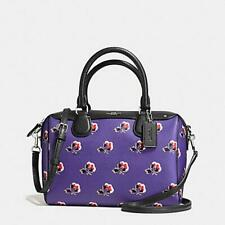 Coach F76629 Bennett Crossbody Handbag Bag - Black/Gold