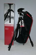 Manfrotto Aluminum Tripod Kit - 3 Way Head, Carring Bag, Quick Realase  MK294KIT