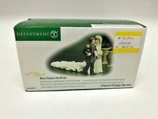 Dept. 56 Christmas Alpine Village #56300 Here Comes The Bride New Nib