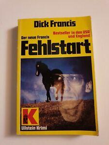 Buch von Dick Francis - Fehlstart