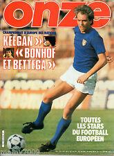 ONZE=N°54 6/1980=BETTEGA=INSERTO EUROPA 80=LE FINALI DELLE TRE COPPE EUROPEE