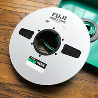 "FUJI Video Tape  1"" tape Master Reel to Reel 4820 FT ALUMINUM (SteamPunk) + Case"