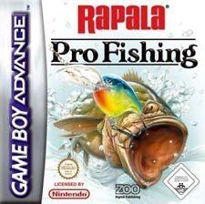 Nintendo Gameboy Advance Jeu-Rapala Pro Fishing Module