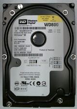 80gb IDE WESTERN DIGITAL wd800jb-00jjc0 disco rigido 2mb #w80-0901