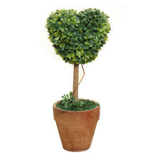 D42 Plastic Garden Grass Ball Topiary Tree Pot Dried Plant for Wedding Party Dec