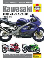 Haynes Manual 3721 Kawasaki Ninja ZX-7R ZX7R & ZX-9R ZX9R 1994-2004
