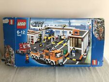 Lego 7642 Garage Empty Box From 2009