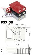 PRISE CONNECTEUR SB / RB 50 RB50 SB50 GRIS BATTERIE CHARGEUR TRANSPALETTE TREUIL