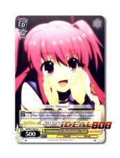 Weiss Schwarz Angel Beats! x 4 Gldemo's Assistant, Yui [AB/W31-E015 U] English
