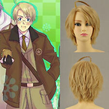 Axis Powers Hetalia Feliciano Vargas ,  animation Cosplay fête cheveux perruques