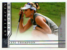 New listing 2021 Upper Deck Artifacts Golf LEXI THOMPSON ROOKIE /199!