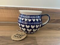 Mug 0.32L Handmade Polish pottery Boleslawiec
