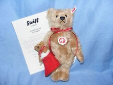 Steiff Teddy Bear lenard NATALE ORSO con coefficiente LIMITED ED EAN 021343 NUOVO