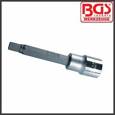 "BGS - 9 mm Allen Key, Internal Hex - 100 mm 1/2"" Drive, BMW & Merc - Pro - 4268"