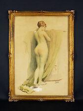 Raoul Billon dit Fred MONEY(1882-1956)Sassay Nu érotique nude Rochegrosse nackt