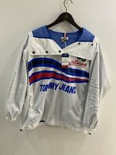 tommy hilfiger jacket Retro Womans Racing Size 10 Small