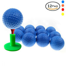 Foam Golf Balls 12 Pcs/Pack Pu Sponge Practice Indoor & Outdoor Elastic Us