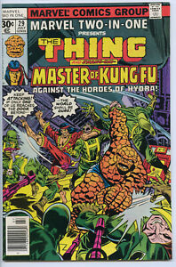 MARVEL TWO-IN-ONE #29 - 7.0, OW - Thing/Shang -Chi vs Hydra