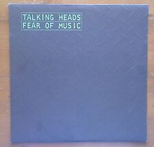 (TALKING HEADS-Fear of Music)-unconventional rhythms/David Byrne-D7-LP