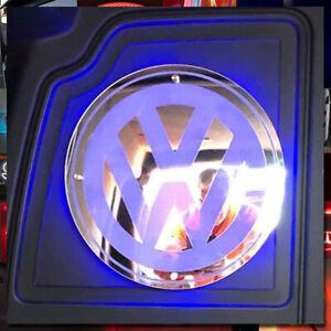 VOLKSWAGEN BULKHEAD INTERIOR LED MIRROR 300x300mm