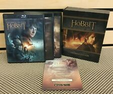 THE HOBBIT COMPLETE TRILOGY EXTENDED EDITION 9 DISC BLU RAY BOX SET