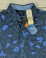 Tommy Bahama Mens Grenada Garden Silk Blend Long Sleeve Shirt- Medium -NWT
