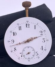Unknown Hand Manual Vintage 42,9 mm Pocket Watch Doesn'T Works for Parts Pocket