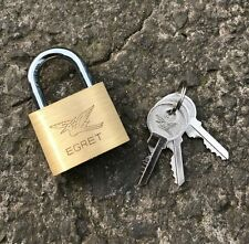 Securit Egret Keyed Alike 40mm Brass Padlock - Heavy Duty - Pad Lock