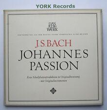 KH 19 - BACH - St. John Passion WIENER SANGERKNABEN - Ex Con 3 LP Record Set