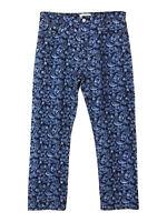 Isabel Marant Etoile embroidered floral blue jeans
