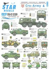 Star Decals 1/35 Croatian Tanks In The Homeland Part 4 Wheeled Afvs & Softskins