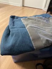 NEW IKEA KIVIK Chaise Lounge Slipcover Cover Hillared Blue 303.488.86 FULL SET