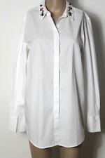 s.Oliver Hemd Gr. 40 weiß Langarm Long Hemd/Bluse